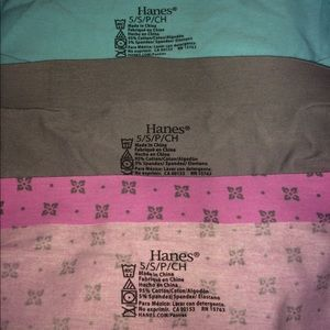 Hanes Intimates & Sleepwear - NWOT High waisted boy shorts